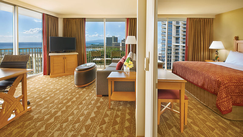oahu one two bedroom suites embassy suites waikiki