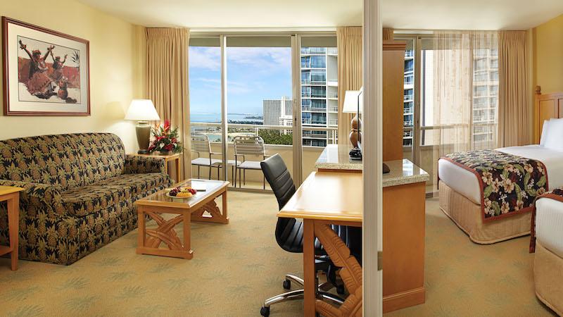 oahu one two bedroom suites embassy suites waikiki